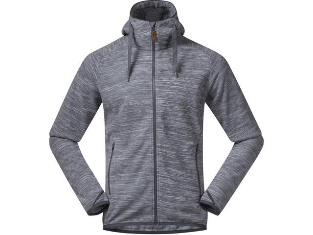 Bergans Hareid Fleece Jacket Herre aluminium melange